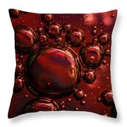 Abstract 0423f Throw Pillow