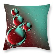 Abstract 0423g Throw Pillow