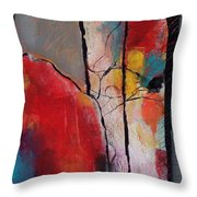 Abstract 050 Throw Pillow