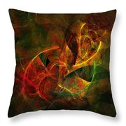 Abstract 051011 Throw Pillow