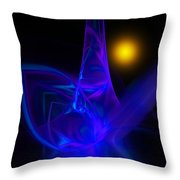 Abstract 051011a Throw Pillow