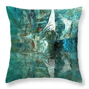Abstract 051515 Throw Pillow