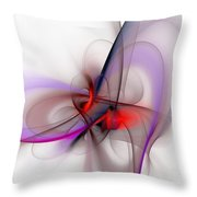 Abstract 051610 Throw Pillow