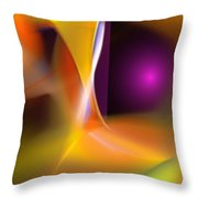 Abstract 052411b Throw Pillow