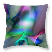 Abstract 053010 Throw Pillow