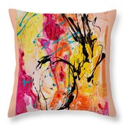 Abstract 058 Throw Pillow