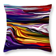 Abstract 06-12-09 Throw Pillow