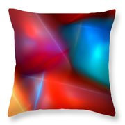 Abstract 060110 Throw Pillow