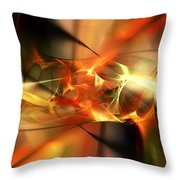 Abstract 060110a Throw Pillow