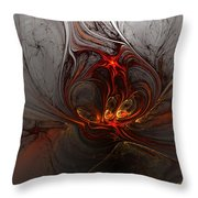 Abstract 060310 Throw Pillow