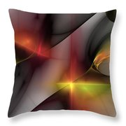 Abstract 060810 Throw Pillow