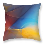 Abstract 060810a Throw Pillow