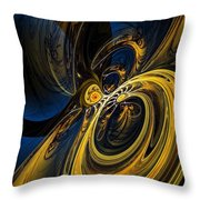 Abstract 060910 Throw Pillow