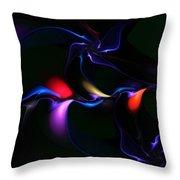 abstract 060910A Throw Pillow