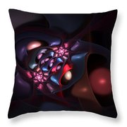 Abstract 060910b Throw Pillow