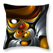 Abstract 061010 Throw Pillow