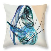 Abstract 061011b Throw Pillow