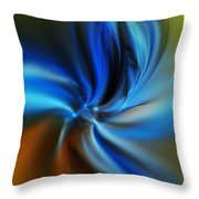 Abstract 061510 Throw Pillow