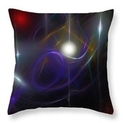 Abstract 062111 Throw Pillow