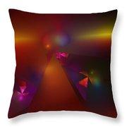 Abstract 062111a Throw Pillow