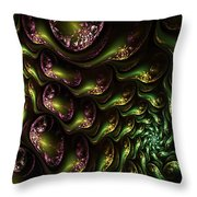 Abstract 062210 Throw Pillow