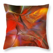Abstract 062910a Throw Pillow