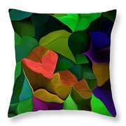 Abstract 063016 Throw Pillow