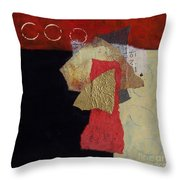 Abstract 070 Throw Pillow
