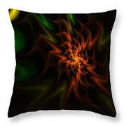 Abstract 070110 Throw Pillow
