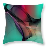 Abstract 070310 Throw Pillow