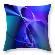 Abstract 070810b Throw Pillow