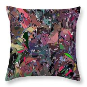 Abstract 070915 Throw Pillow