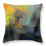Abstract 071810 Throw Pillow