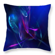 Abstract 072610 Throw Pillow