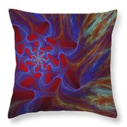 Abstract 073010 Throw Pillow