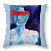 Abstract 077 Throw Pillow