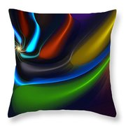 Abstract 080510 Throw Pillow