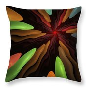 Abstract 080610 Throw Pillow