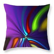Abstract 080610a Throw Pillow