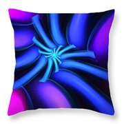 Abstract 080610b Throw Pillow