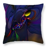 Abstract 080710 Throw Pillow