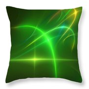Abstract 081210 Throw Pillow