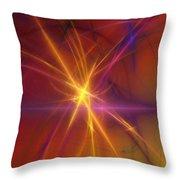 Abstract 081210a Throw Pillow
