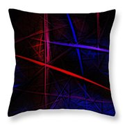 Abstract 081410 Throw Pillow