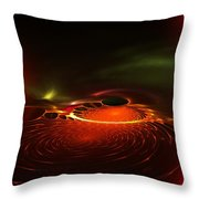 Abstract 081410a Throw Pillow
