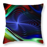 Abstract 081510 Throw Pillow