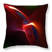 Abstract 082010 Throw Pillow