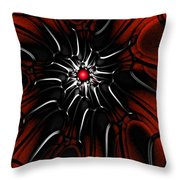 Abstract 082110 Throw Pillow