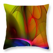 Abstract 082910 Throw Pillow
