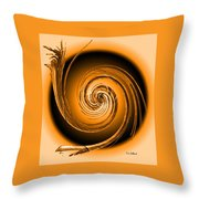 Abstract 086 Throw Pillow